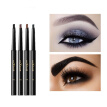 Three Dimensional Double Headed Eyebrow Pen Cosmetics Natural Waterproof Smudge Proof Rotating Eyebrow Pencil