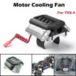 GRC Realistic Engine 11.1V Cooling Fan Type A Motor Heat Sink For TRX-4
