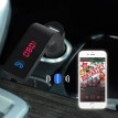 〖Follure〗Bluetooth Car Kit Handsfree FM Transmitter Radio MP3 Player USB Charger & AUX