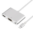 W_For iPhone Interface For Lightning To VGA HDMI Converter Digital AV TV Cable Adapter For iPhone X 8 7 6 Plus iPad