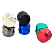 Metal Hand Tobacco Grinder Barrel Shape Spice Crusher 4 Layers Premium Herb Mill