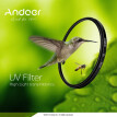 Andoer 52mm UV Ultra-Violet Filter Lens Protector for Canon Nikon DSLR Camera