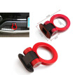 Universal ABS Bumper Car Sticker Adorn Car Simulation Tralier Tow Hook Kit Car Accessories Car Dummg Tralier Tow Hook Car-stylin