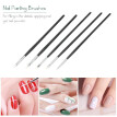 15PCS Nail Art Brushes 3D Nail Art Painting Pen Nail Polish Design Kit for False Acrylic Nails