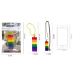 Colorful Blocks Building Key Ring Accessories Keychain Model Kits Set Diy Toys For Kids Key