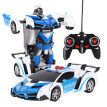 Gobestart 1:18 Electric Remote Control Car1 Button Remote Control Deformable Vehicle Robot