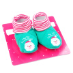 New Fashion Baby Toddler Antislip Boots Shoes Socks Slippers Long Socks Baby Shoes Infant Boys Girls Christmas Footgear
