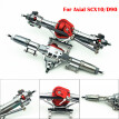 1/10 RC Car Accessory Alloy Front And Rear Axle Machined for Axial SCX10 D90