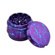 Colorful Metal Tobacco Grinder Tobacco Crusher Hand Muller 4 Layers Herb Grinder Spice Mill