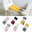 Hot Sale Lovely Spell color And Cotton Material Girls Pants Autumn New Arrival Baby Girls Outwear Leggings M1