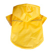 Pet PU Reflective Raincoat Summer Hooded Rain Coat Outdoor Waterproof Jackets Clothes For Small Large Dogs Cats Puppy Kitten