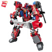 Enlighten (ENLIGHTEN) children's assembly compatible with Lego building block robot deformation toy King Kong boy gift Shura Ares 1414