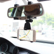 New Auto Car Rearview Mirror Mount Stand Holder Cradle For All Cell Phone GPS