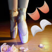 Women's Girl's Professional Soft Ballet Pointe Silicone Gel Toe Dance Shoe Pads