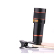 Mobile Phone Telephoto Lens 12X Zoom Optical Telescope Camera Lens with Clips For iphone 4S 5S 6S 7 All Phone