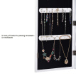 Whole Body Mirror Decoration Jewelry Storage Box Earrings Necklace Organizer Home Dressing Mirror