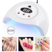 LED UV 90W Nail Dryer Curing Gel Polish Lamp Light Curing Manicure Machine Nail