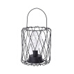Modern Vintage Diamond Shape Pendant Light Iron Art Iron Wrought Ceiling Lamp for Kitchen Living Room Bedroom Study balcony Cafe