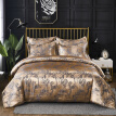 3pcs/set Home Bedding Jacquard Duvet Cover Set Pillow Shamsluxurious Bedclothes Single Queen King Size Bed Sets