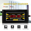Full Automatic Car Battery Charger 110V/220V To 12V 6A/10A Smart Fast Power