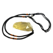 Ecological Yellow Crystal Raw Natural Citrine Stones Pandent Yellow Quartz Rough Bulk Gemstone Minerals Energy Necklace