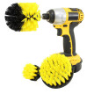3Pcs Grout Power Scrubber Cleaning Brush Tub Cleaner Combo Tool Kit