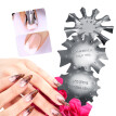 Easy French Nail Smile Line Precise Guide Edge Trimmer Nail Art Stencil Template