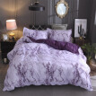 Simple Marble Bedding Duvet Cover Set Quilt Cover  Twin King Size With Pillow Case
