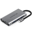 Yamazawa (SAMZHE) Type-C docking station USB-C to HDMI/VGA network port HUB multi-function converter PD charging Apple MacBook notebook TC-DK