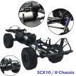 Assembled Frame Chassis for 1/10 RC Axial SCX10 / II 90046 90047 313mm Wheelbase