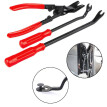 Excellent 3pc Quality Car Door Panel Clips Pliers Trim Removal Fastener Puller Repair Tool