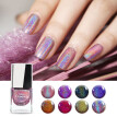 4Color Holographic Chrome Glitter Nail Polish Grade Rainbow Neon Color Quick Dry
