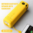 3-in-1 Multi-functional Outdoor Bluetooth Speaker Flashlight A Power Bank