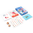 Family Yoga Game Cognitive Yogi Cards Baby Kids Fitness Parent-child Interactive Enlightenment Game Card Toys Mom and daughter