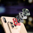Camera 3D Protective Lens Sticker For IPhone X XS MAX Camera Cover Seconds Change To IPhone 11 Pro MAX aluminum alloy Material