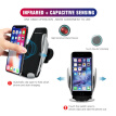 Automatic Clamping Wireless Car Charger Air Vent Mount Holder For iPhone Samsung All Android Phone Charger And Holder