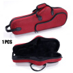 Glarry High Grade Durable Cloth Alto Saxophone Case Saxophone Box Red