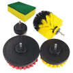 5 Piece Scrub Brush Power Drill Cleaning Brush Cleaner Combo Tool Kit Perfect for Cleaning Grout