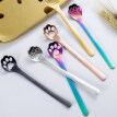 Cute Animal Paw Claw Stainless Steel Coffee Drink Dessert Kitchen Mixing Spoon