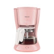 Philips HD7431/30 (0.6L) Coffee Maker, Pink