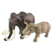 Fashion Baby Toys Solid Simulation Animal Model African Elephant Model Toy Plastic Model Toy Elephant Having Two Pattern