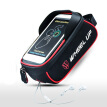Bicycle Front Top Tube Cycling Bag MTB Bike Waterproof Mobile Phone Touch Screen