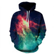 3D Wholesale Hoodie Wolf Print Sweatshirts Chic Pullover Men Women Top Tee With Pocket 3D Printing Hooide