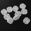 10Pcs Sockets Cover Plugs Child Baby Safety Electrical Outlet Cover 2 Hole Anti Electric Shock Plugs Protector Guard