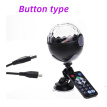 Bluetooth Car DJ Disco Lights USB Mini Pocket Crystal Magic Ball Laser Stage Light Party Stage Light Projector Lighting Effect