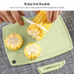 3pcs/set Handy Kitchen Knife & Cutting Board Set Fruit Knife Ceramic Knife Cutting Board Peeler Set of 3 Chopping Board Paring Kni
