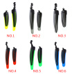 1111Fourone 1 Pair Bicycle Front Rear Mud Guards Mountain Bike Tire Wheel Fenders Cycling Acessories 20-26 Universal