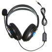 Aluoyue 3.5mm Wired Headphone Game Headphones With Microphone Headset for PS4 Sony PlayStation 4 /PC Computer