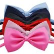 6pcs Children Bow Tie Boy Bowtie for Kids Dressing Decoration (Black & Red & Pink & Peach Red & Wathet & Navy Blue)