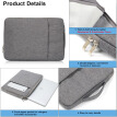 "15.4"" Laptop Sleeve Case Carry Bag Universal Laptop Bag For MacBook Pro Samsung Lenovo"